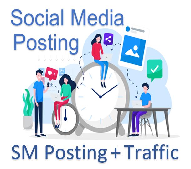 Social Media + Traffic